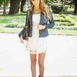 modern white dresses outfit ideas 2015
