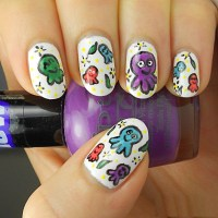 Effortless Free Hand Painted Nail Art Designs For 2017 ...