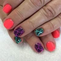 Summer Acrylic Nail Art Design 2017 - Styles 7