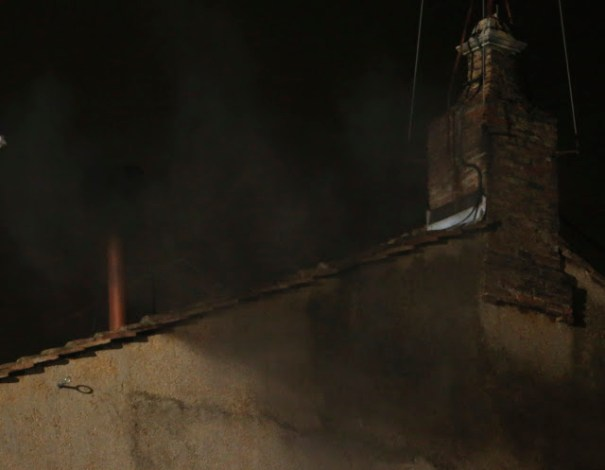 Black smoke emerges from Vatican Sistine Chapel chimney