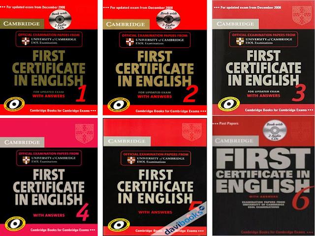 [Series] First Certificate in English 1 2 3 4 5 6 ( FULL Ebook + Audio )