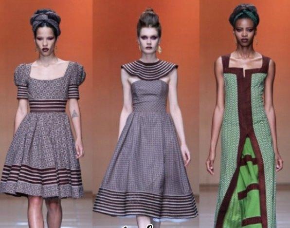 Recent Tlale Shweshwe Designs & African Print