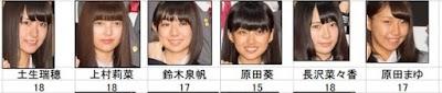 欅坂46(けやきざか)合格者集合写真2列目左からメンバープロフィール