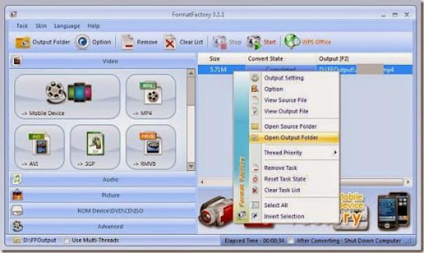 cara merubah file format video