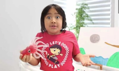 How a 9-year-old child earned Rs 5 billion from YouTube in a year. Interesting Details