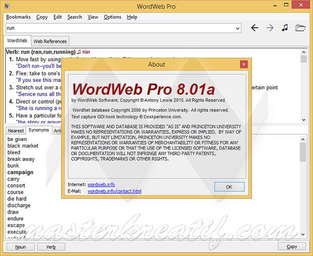WordWeb Pro 8