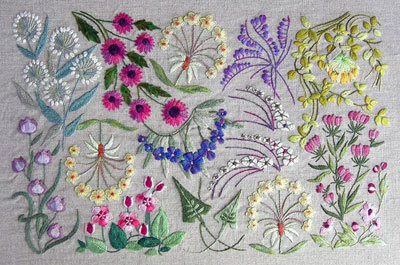 Surface embroidery