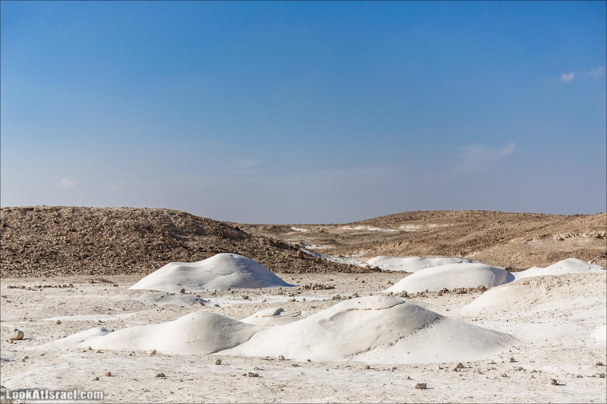 Белая пустыня (Хамукей Ницана)   Nizzana Hillocks   חמוקי ניצנה   LookAtIsrael.com - Фото путешествия по Израилю