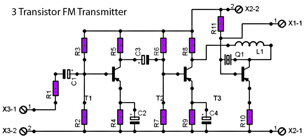 pcb transmitter circuit