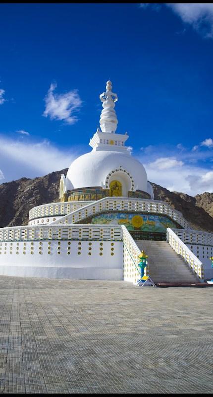 shanti stupa leh