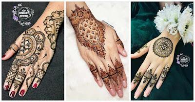 Beautiful Arabic and Pakistani Weddings Simple Mehndi Designs 2021