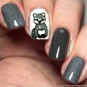 woodland animals raccoon nail