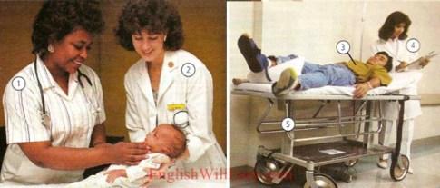 En el hospital-salud-Photo Dictionary online