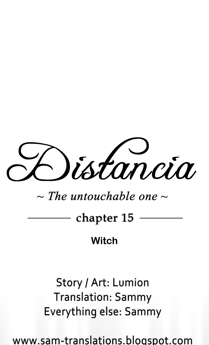 Distancia ~ The Untouchable One: Chapter 15 - Page 4