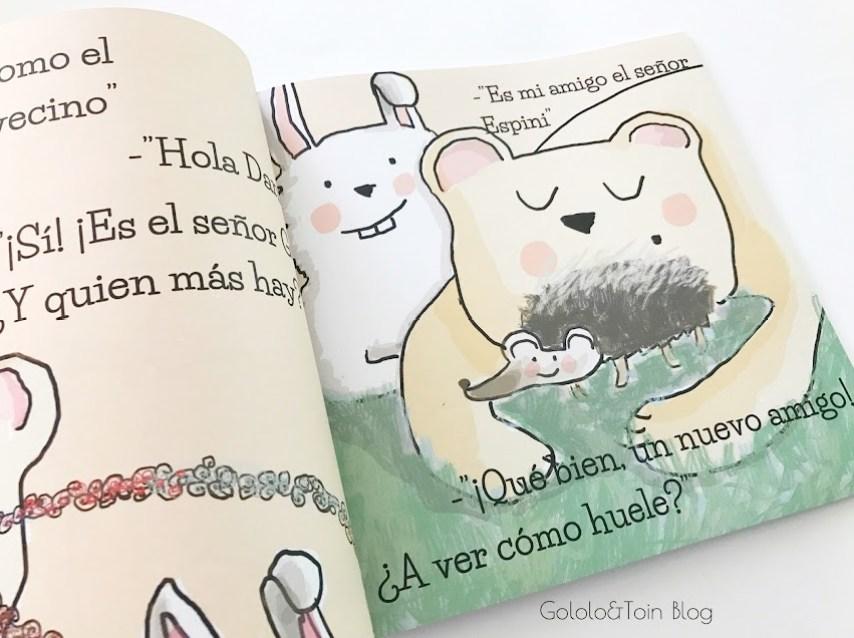 cuento infantil sobre el olfato