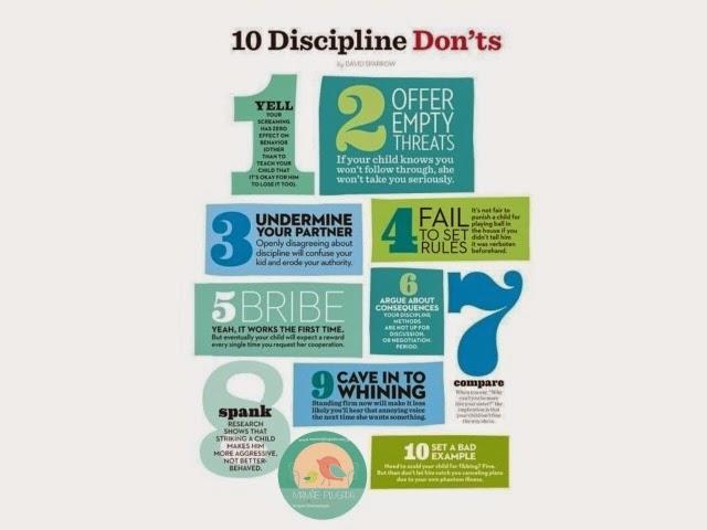 10 coisas para NÃO fazem com os filhos