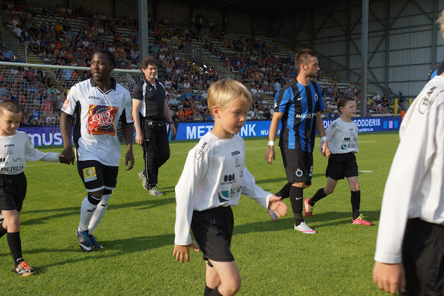 oplopen bij begin match
