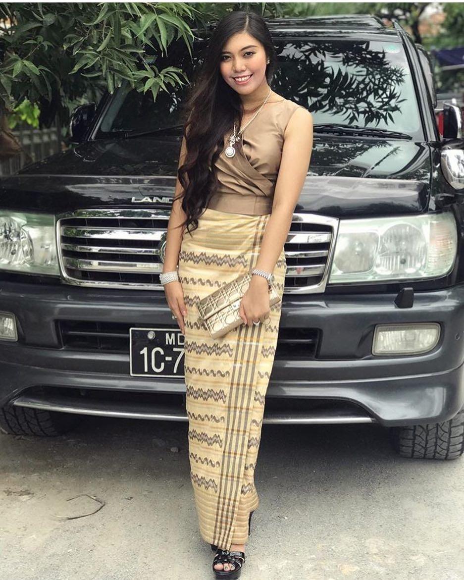 Wedding Dress In Myanmar