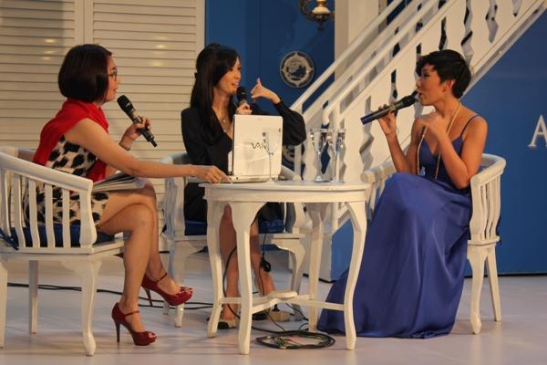 Talkshow Ria Luntungan dan Cathy Sharon