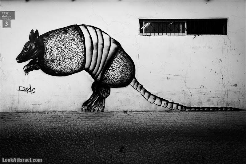Страшное граффити Тель Авива