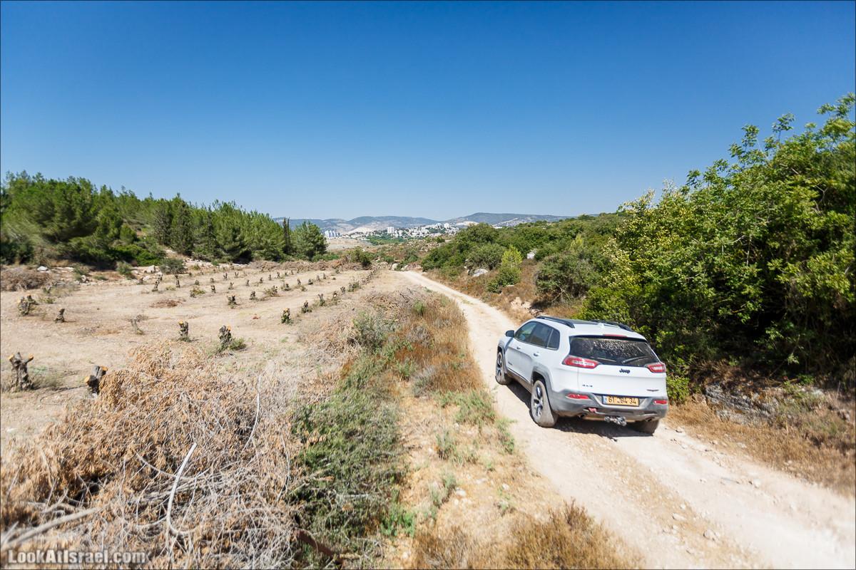 Внедорожное путешествие от киббуца Нахшон к монастырю Бейт Джамал | LookAtIsrael.com - Фото путешествия по Израилю