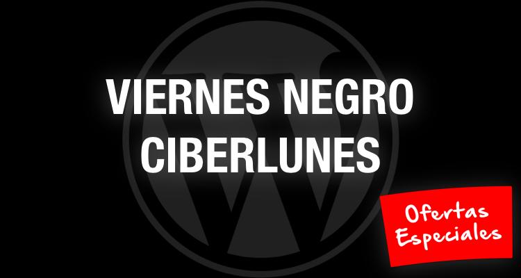 Ofertas de WordPress: Viernes Negro y Ciberlunes 2015