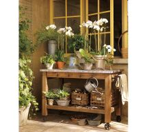 Outdoor Garden Potting Table