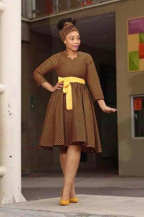 Ready To Share Shweshwe Fashion And Dresses ⋆ Fashiong4