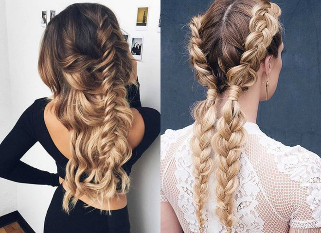 original ideas for hairstyles with pigtails 2018 1