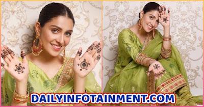 Ayeza Khan Chand Raat Pictures