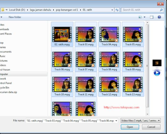 cara merubah file video menjadi audio mp3