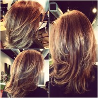Mahogany copper hair color, blonde ombre highlights ...