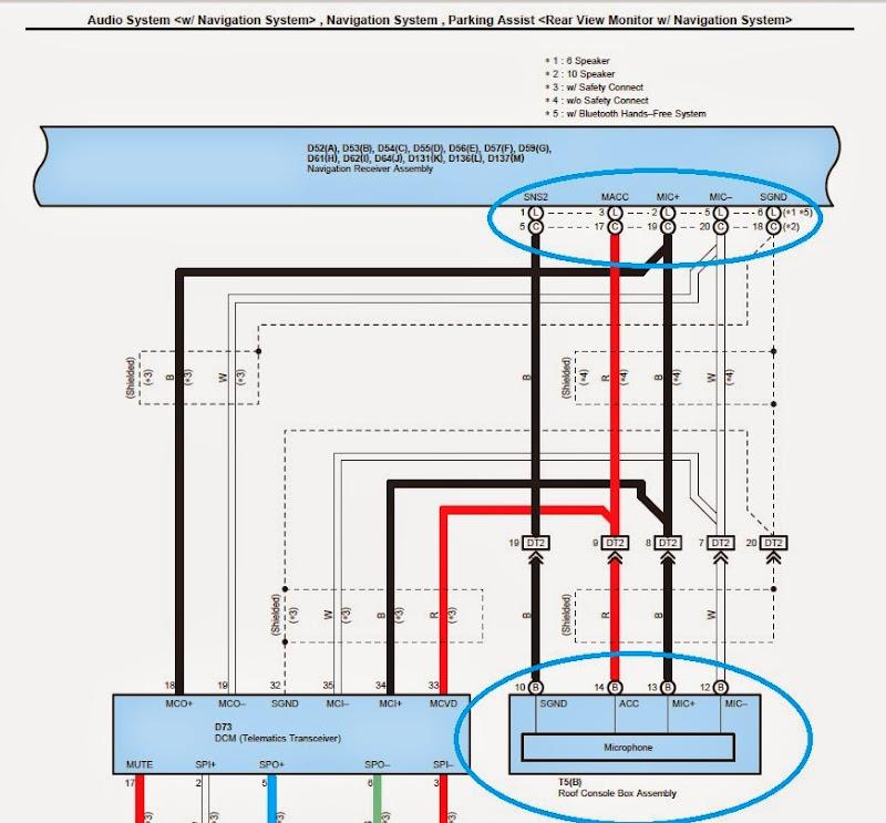 rockford fosgate pbr300x4 wiring diagram shunt trip breaker using stock microphone with aftermarket receiver - toyota sienna forum siennachat.com