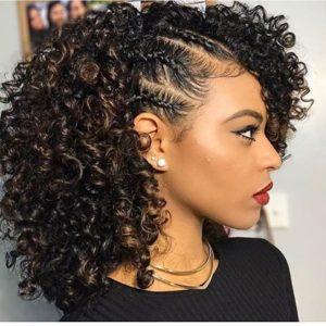 Natural Hairstyles For Medium-Length Hair 2018 5