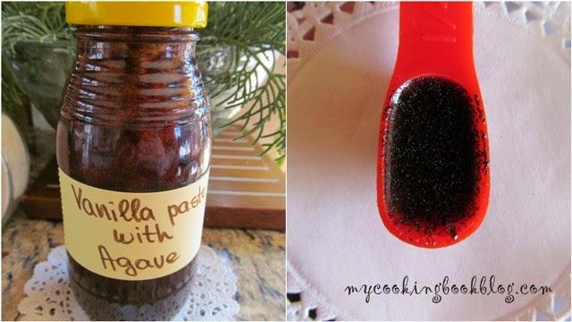 Ванилова паста със сироп от Агаве