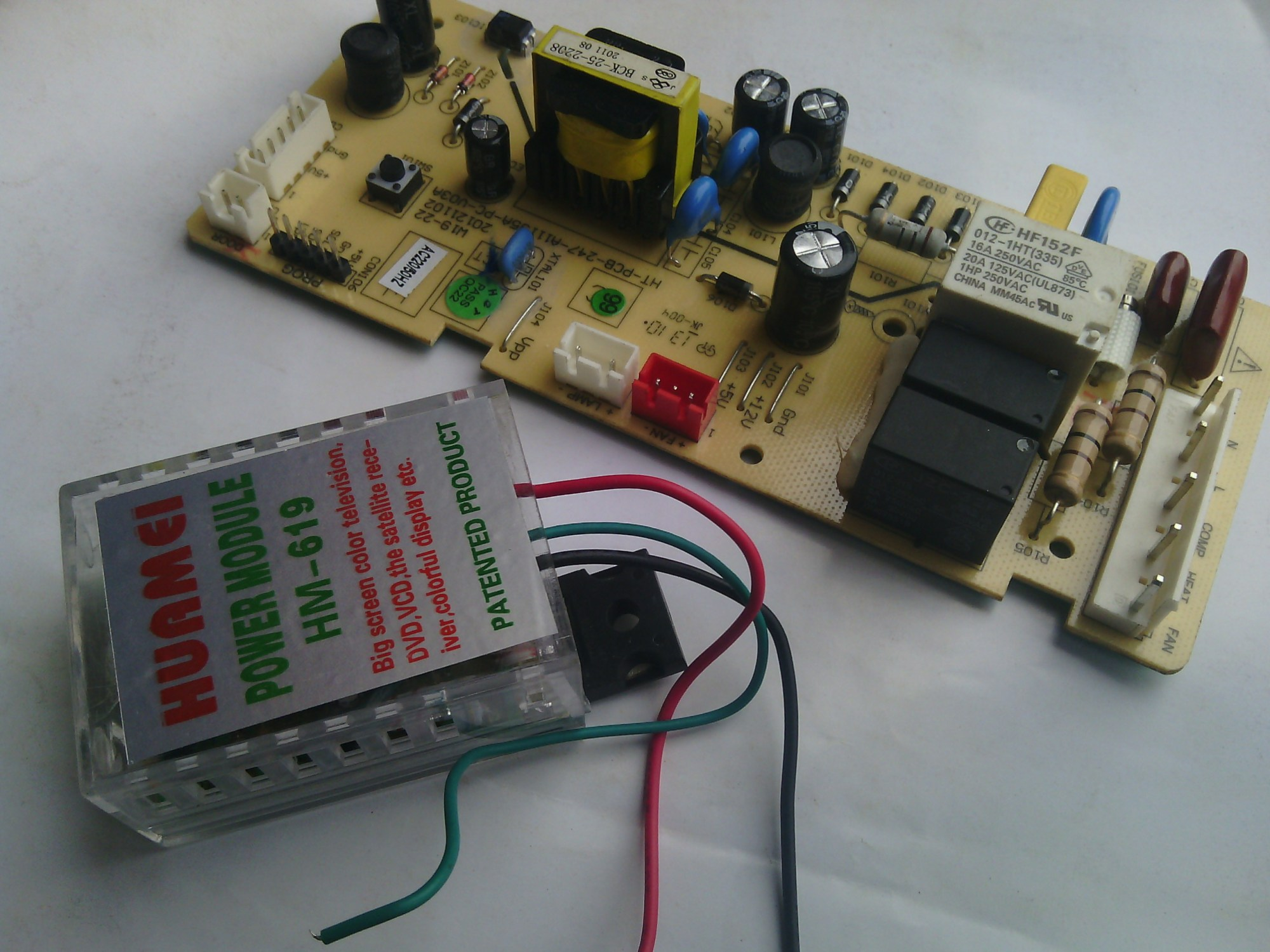 hight resolution of to connect the module neglect the green wire connect the black wire to the