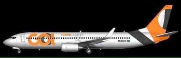 Proceed to gate Nova pintura da GOL Linhas Aéreas New