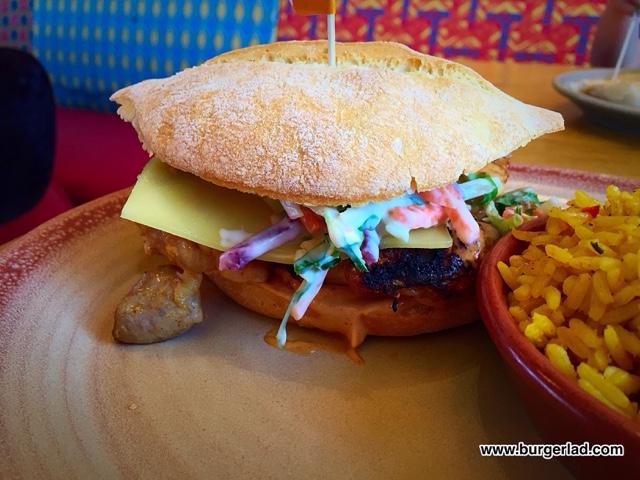 Nando's Churrasco Thigh Burger