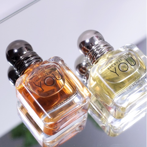 armani parfum stronger with you, because It's you
