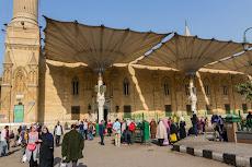 Al-Hussein Mosque in Cairo