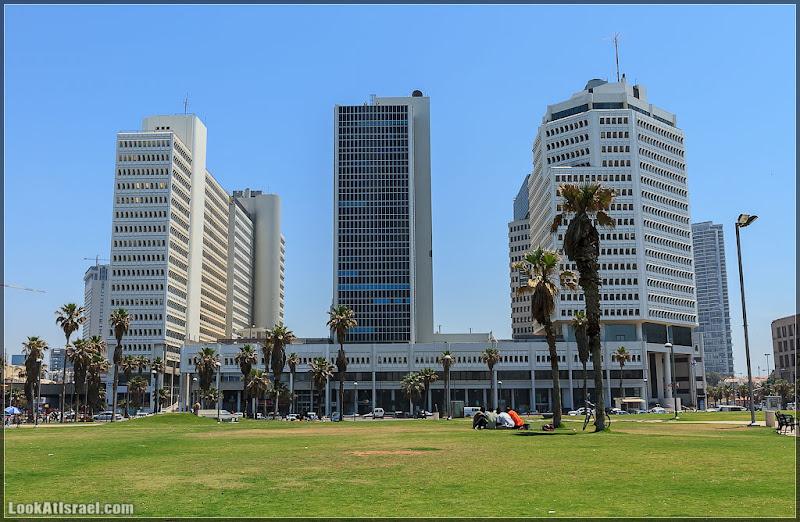 Тель Авивские небоскребы / מתחם הטקסטיל