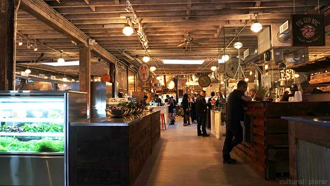 Gluttony in NYC's Gansevoort Market • Cultural Xplorer