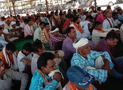 भारतीय जनता पार्टी विधानसभा थांदला का होली मिलन समारोह स्थानीय नई मंडी में आयोजित किया गया - jhabua alert 🚨