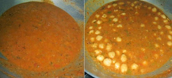 Jain Chole Masala Recipe | Easy Punjabi Side Dishes | written by Kavitha Ramaswamy of Foodomania.com