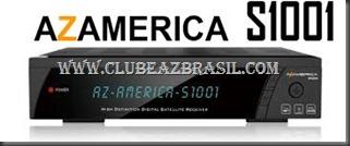 ATUALIZAÇÃO AZ AMÉRICA S1001 HD