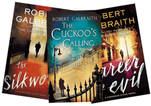 Image result for cormoran strike books