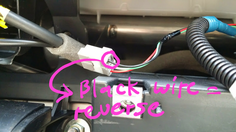 2006 toyota tundra radio wiring diagram 1955 chevy light switch backup camera which stock wires to use connect towhich