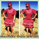 Summer ShweShwe Dresses  2017 / 2018 For Women