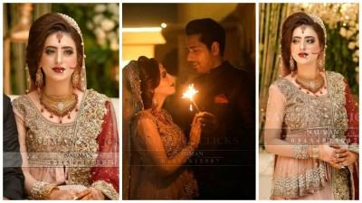 Newly Wed Couple Salman Saeed and Aleena Wedding Photo Shoot