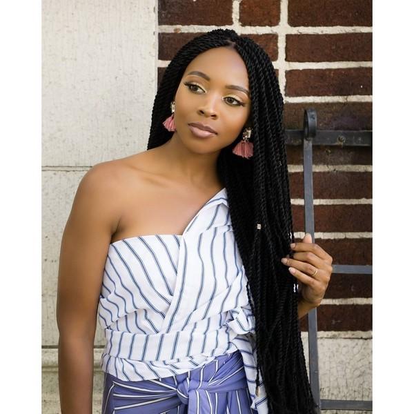 Senegalese Twists Hairstyles 2019 For Black Ladies 2